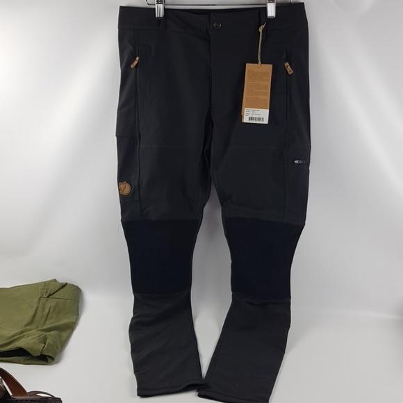 7b96519f6603b Fjallraven Pants | Abisko Trekking Tights Dark Gray Medium | Poshmark